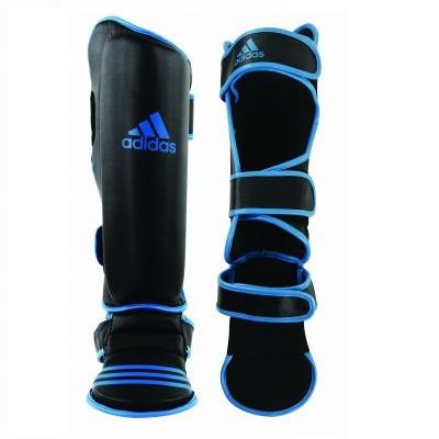 Adidas Heavy Duty Shin Guards - Blue