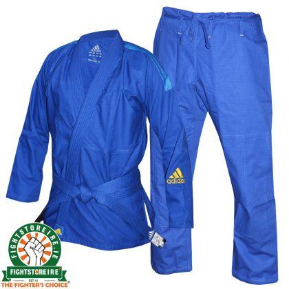 Adidas Kids Response BJJ Gi - Blue