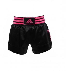 Adidas Thai Boxing Shorts - Black/Pink