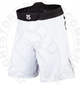 Tenacity White Resurgence Fight Shorts