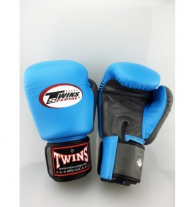 Twins BGVL 3 Thai Boxing Gloves - Blue/Grey