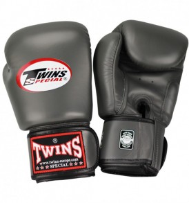Twins BGVL 3 Thai Boxing Gloves - Grey