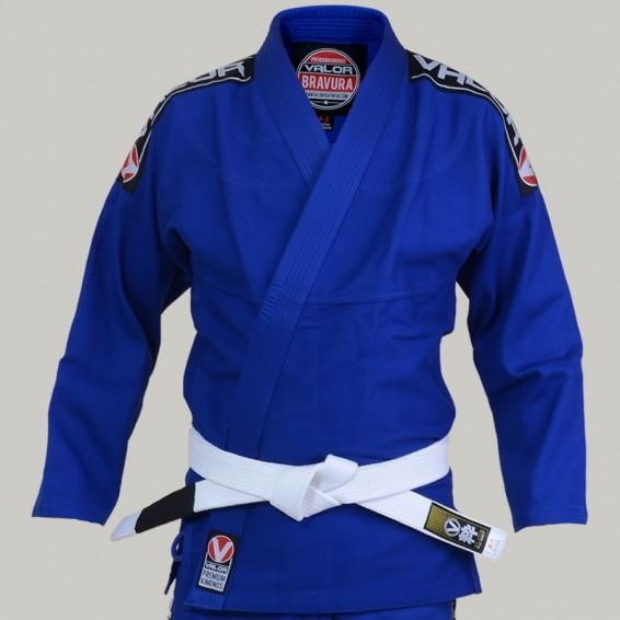 Valor Bravura BJJ Gi - Blue with Free White Belt
