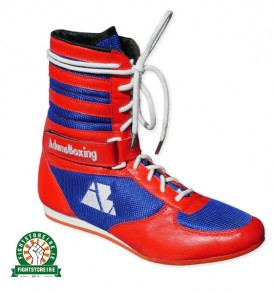 AdamsBoxing Color Way Boxing Boots - Red/Blue