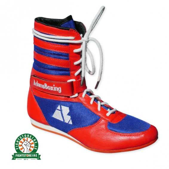 Adamsboxing Color Way Boxing Boots Red Blue Fight