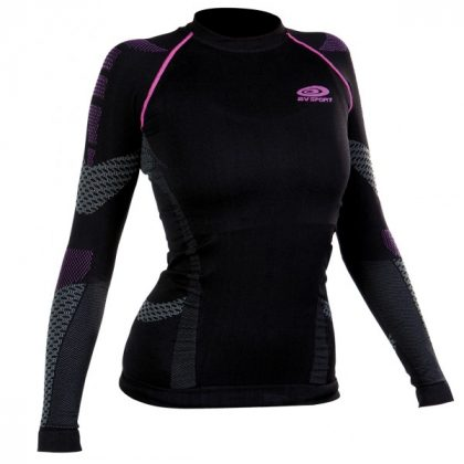 BV Sport Haut-Technique Nature3r Court - Black/Pink
