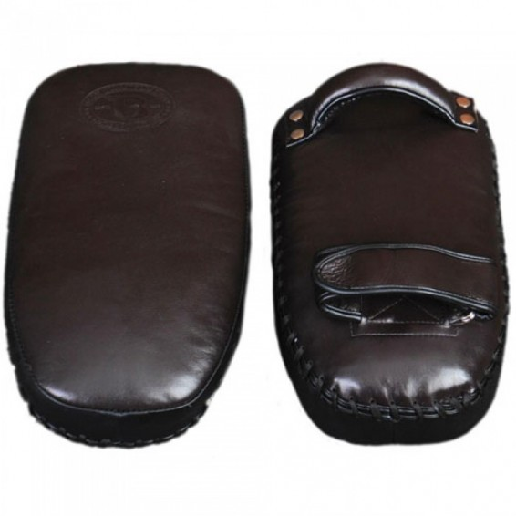 Booster Authentic Leather Thai Pads - Brown