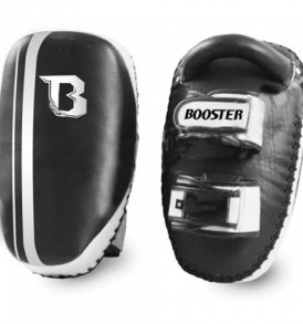 Booster Pro Curved Thai Pads - Leather