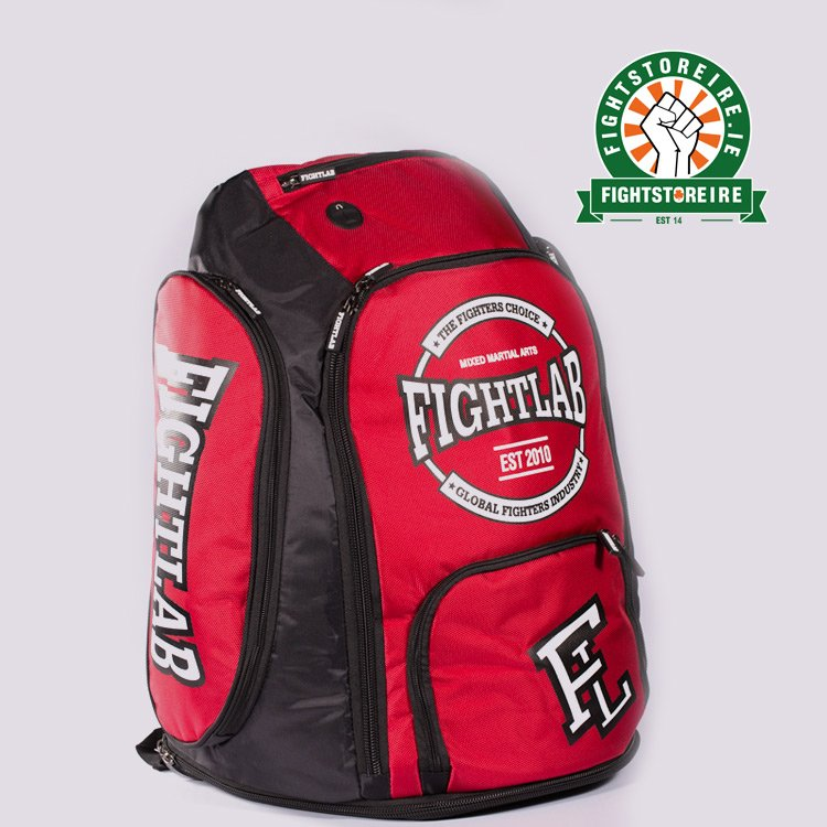 60e993e81d3 Fightlab Back Pack - Red Black