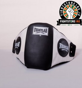 Fightlab Classic Belly Pad Black and White