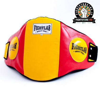 Fightlab Classic Belly Pad Red and Yellow