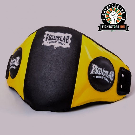 Fightlab Classic Belly Pad Yellow and Black