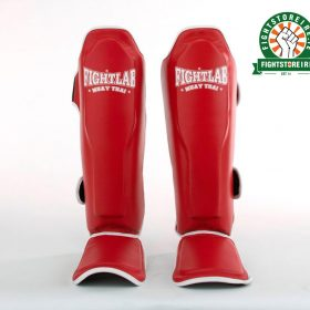Fightlab Classic Shinguards - Red