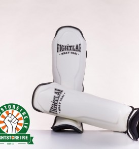 Fightlab Classic Shinguards - White