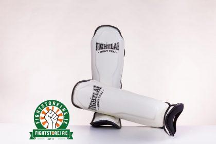 Fightlab Classic Shinguards - White