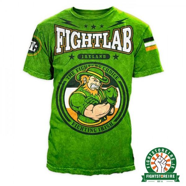 Fightlab Fighting Irish T-Shirt - Green - Fight Store IRELAND