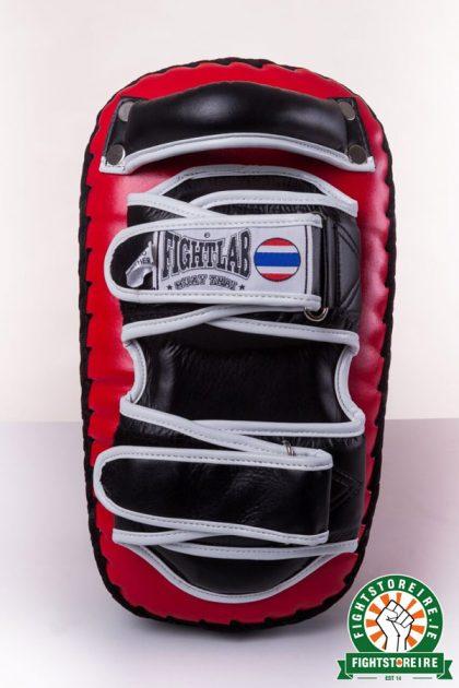 Fightlab Flo Curved Thai Pads - Red/Black