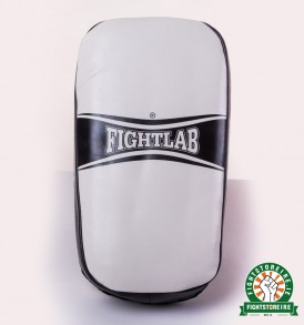 Fightlab Flo Curved Thai Pads - White