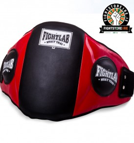 Fightlab Classic Belly Pad Black and Red