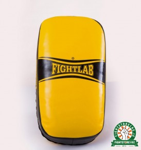 Fightlab Flo Curved Thai Pads - Yellow