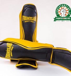 Fightlab Flo Shinguards - Black/Yellow