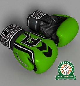 Fightlab Force Muay Thai Gloves - Green