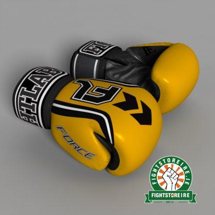 Fightlab Force Muay Thai Gloves - Yellow
