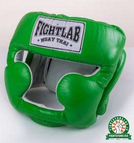 Fightlab Full Face Head Guard - Green
