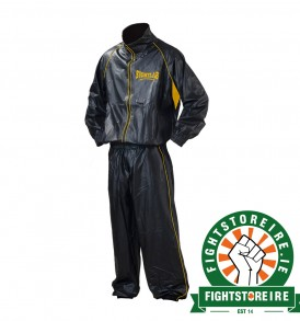 Fightlab Sweat Suit - Black/Yellow