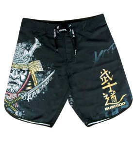 Koral Samurai Fight Shorts - Black