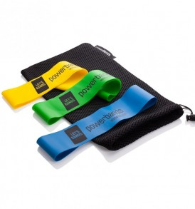 Let's Bands Powerbands Mini Resistance Bands - 3 Bands