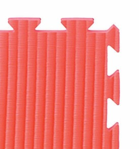 40mm Tatami Covered Jigsaw Mats - Red
