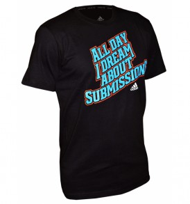 Adidas BJJ Printed T-Shirt - Black