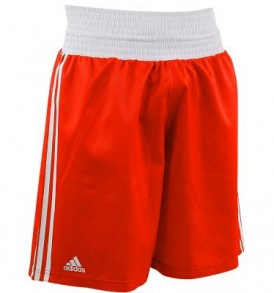 Adidas Boxing Shorts - Red
