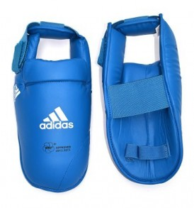Adidas WKF Foot Protector - Blue