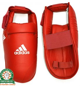 Adidas WKF Foot Protector - Red