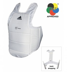 Adidas WKF Karate Body Protector - White