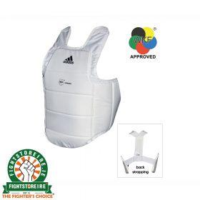 Adidas WKF Karate Body Protector - White