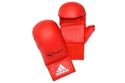 Adidas WKF Karate Mitts - Red