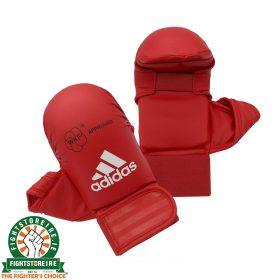 Adidas WKF Karate Mitts - Red