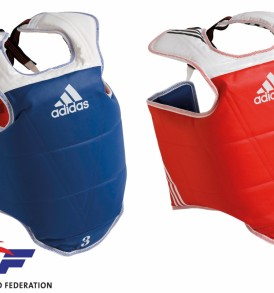 Adidas WTF TKD Body Protector - Reversible