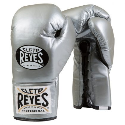 Cleto Reyes Official Boxing Gloves New Platinum