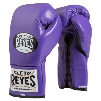Cleto Reyes Official Boxing Gloves New Purple