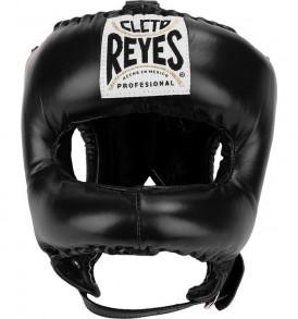 Cleto Reyes Traditional Pointed Nylon Bar Headguard - Black