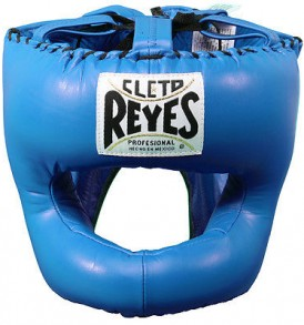 Cleto Reyes Traditional Pointed Nylon Bar Headguard - Blue