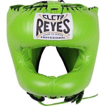 Cleto Reyes Traditional Pointed Nylon Bar Headguard - Citrus Green