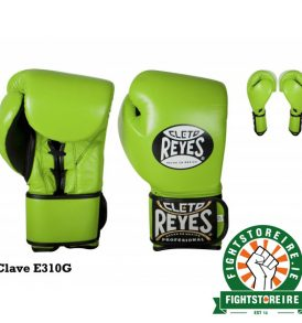 Cleto Reyes Universal Sparring and Training Gloves - Citrus Green
