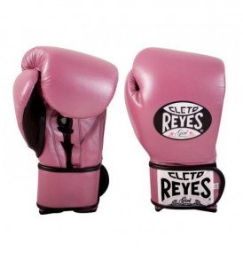 Cleto Reyes Universal Sparring and Training Gloves - Pearl Pink