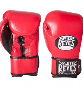 Cleto Reyes Universal Sparring & Training Gloves - Red and Black