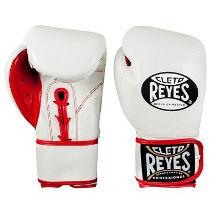 Cleto Reyes Universal Sparring and Training Gloves - White and Red